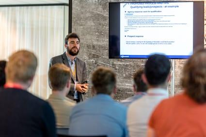 Presentatie van Julien Cornet van Semetis