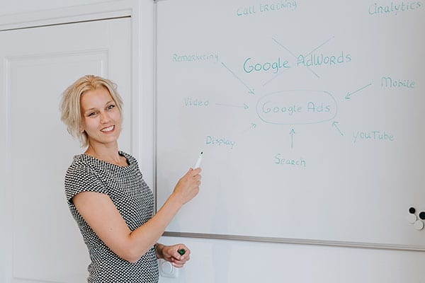 Google Ads training door Suzan van Heck