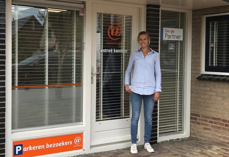 CaseMarketing kantoor in Boven-Leeuwen met Suzan van Heck