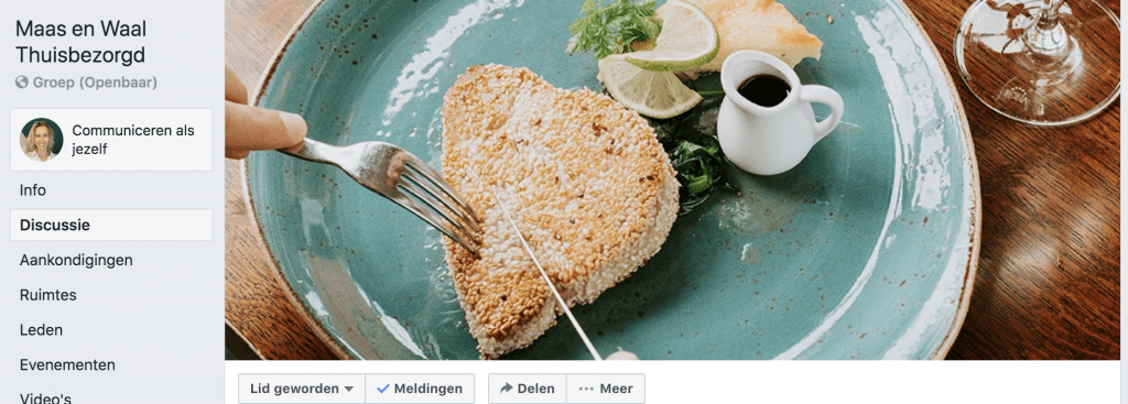Facebookgroep Maas en Waal Thuisbezorgd