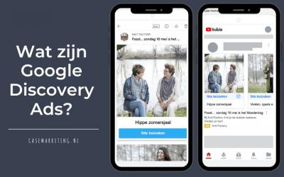 Wat zijn Google Discovery Ads?