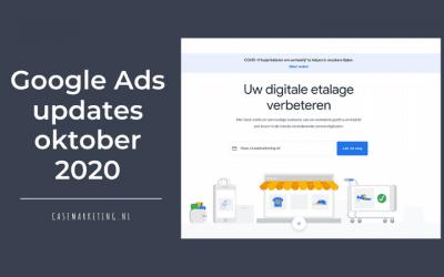 Google Ads updates oktober