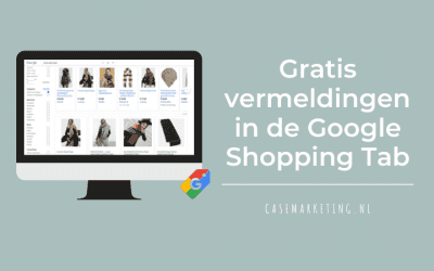 Gratis vermeldingen in de Google Shopping tab
