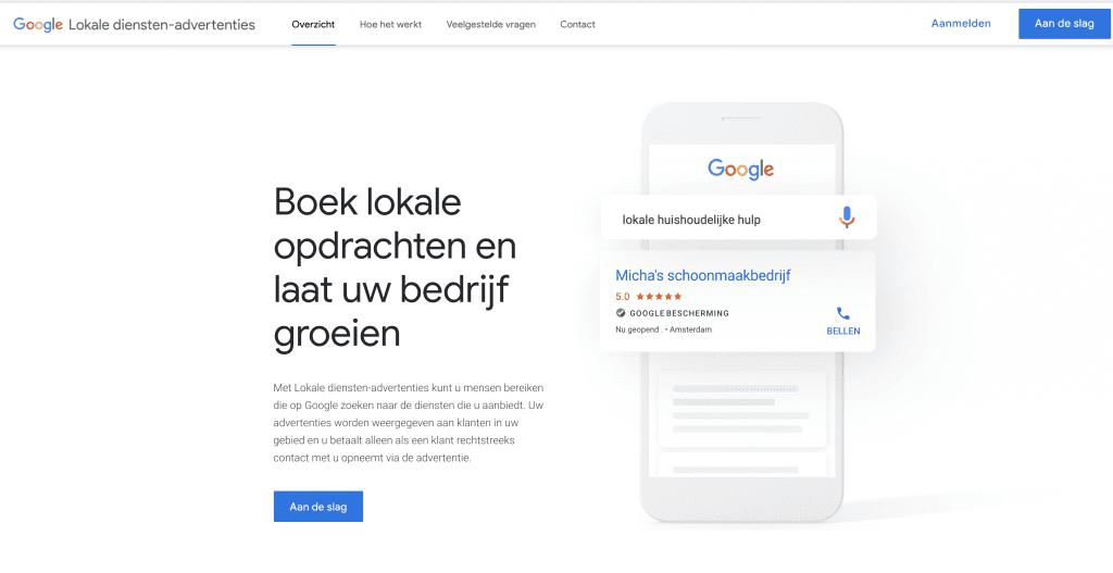 google ads updates oktober 2020 - lokale diensten-advertenties