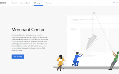 Het Google Merchant Center en Google Shopping
