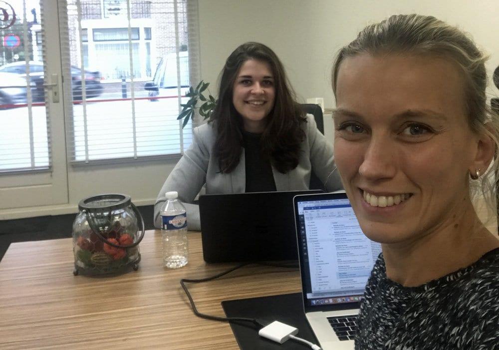 Rachelle Blok en Suzan van Heck
