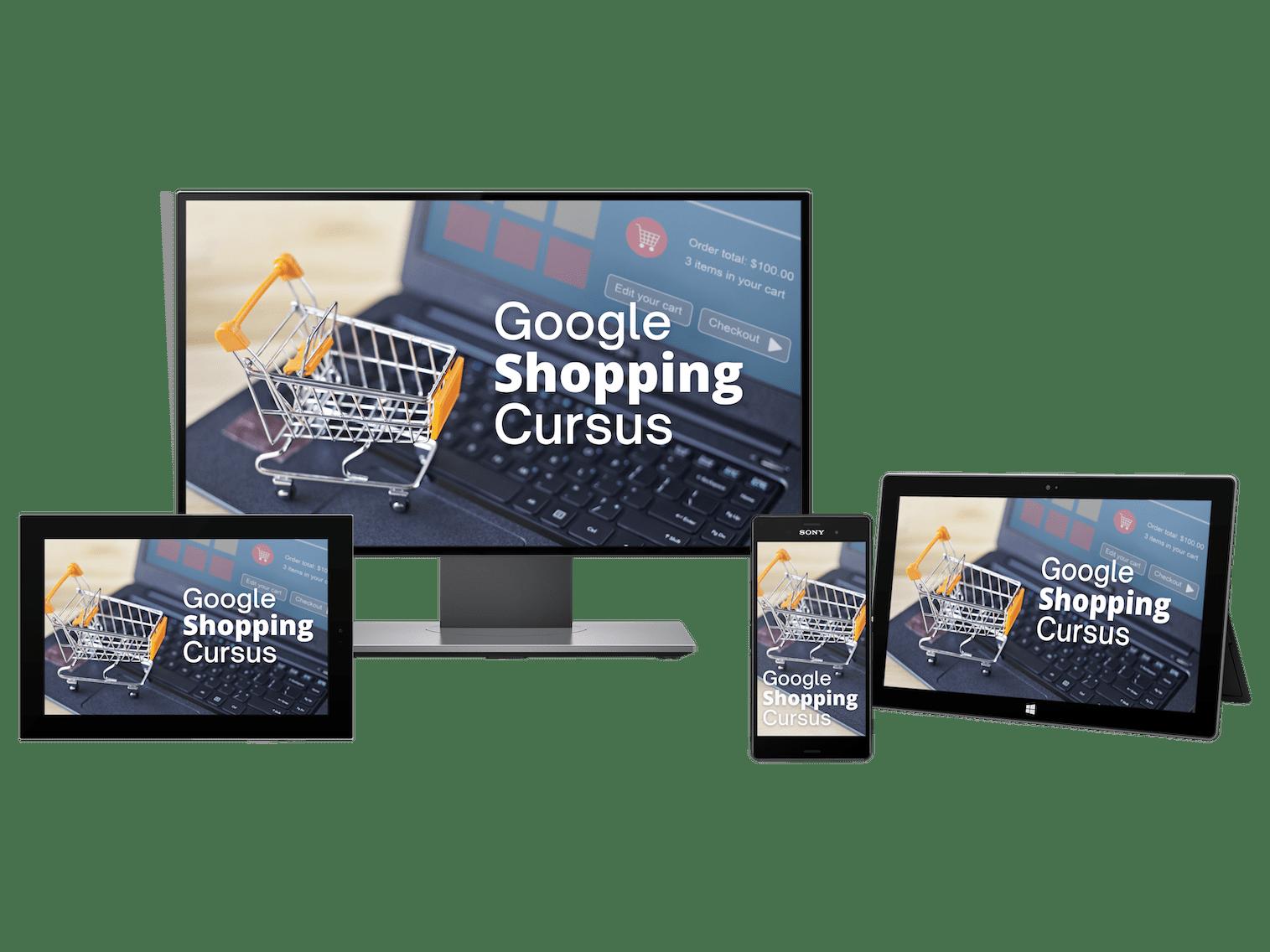 Google Shopping Cursus