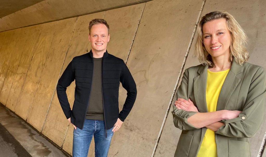 Mark Bongers en Suzan van Heck Facebook en Google challenge