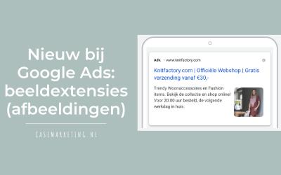 Nieuw bij Google Ads: beeldextensies (afbeeldingen)
