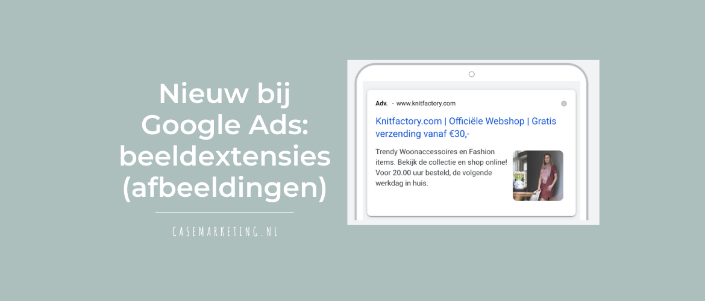 Beeldextensies Google Ads