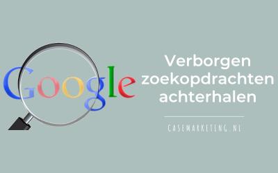 Verborgen zoekopdrachten van Google Ads achterhalen